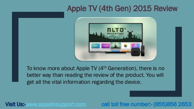 Apple TV (4th Gen) 2015 Review Visit Us:-www.appletvsupport.com call toll free number:- (855)856 2653 To know more about A...