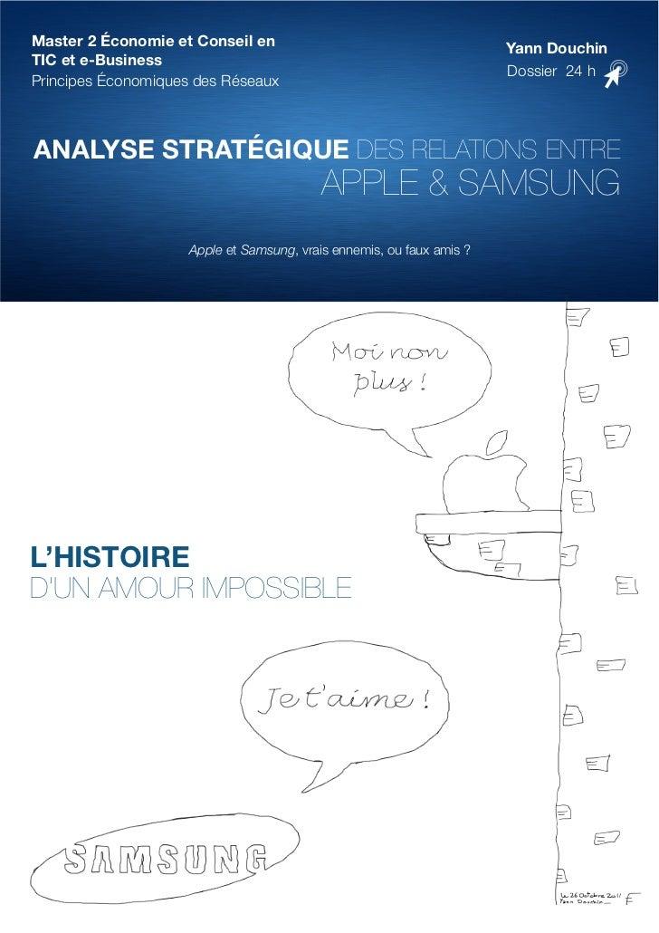 Master 2 Économie et Conseil en                                        Yann DouchinTIC et e-Business                      ...