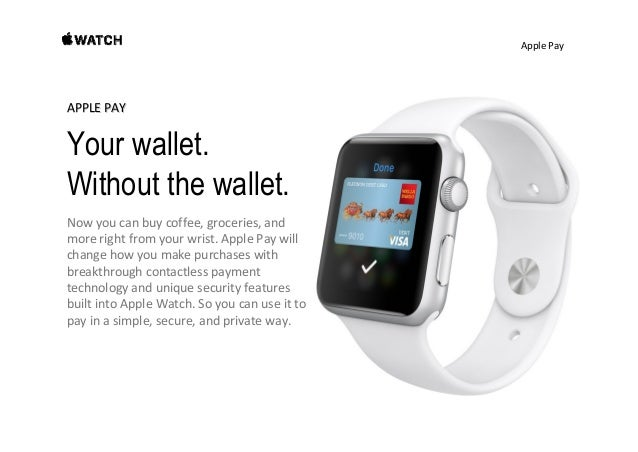 ApplePay An easier way to pay. Nowpayinginstoreshappensquicklyandeasily— there'snoneed toopenanapp.You don...