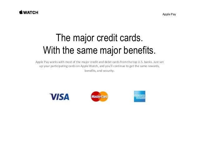 ApplePay Participating banks.
