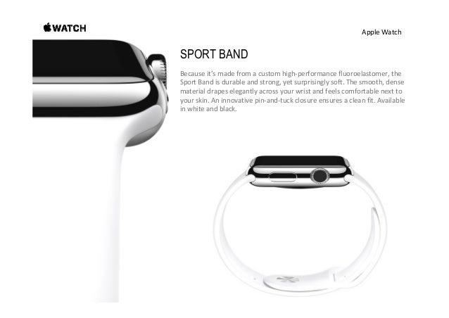 AppleWatch 42mmStainlessSteelCase withWhiteSportBand 38mmStainlessSteelCase withWhiteSportBand Twentydiffere...