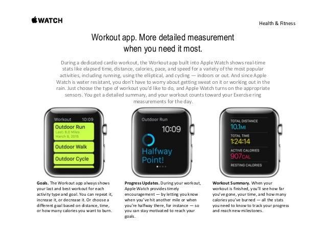 Health&Fitness Made to measure the many ways you move. HeartRateSensor. Thecustom heartratesensorinAppleWatch ...