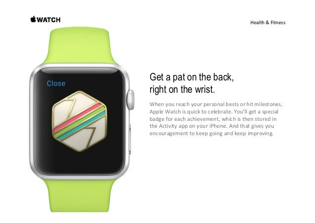 Design DESIGNDESIGN There's an Apple Watch for everyone. Selectingawatchisverypersonal.Aswith allthingsyouwear,...