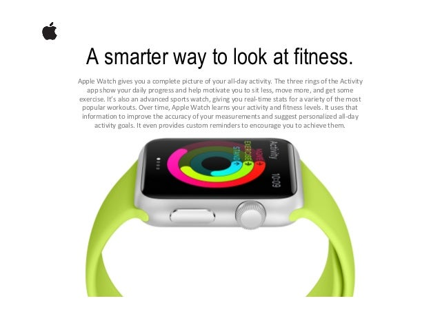 There's an Apple Watch for everyone. Adeviceyouwearisvastlydifferentfromoneyoukeeponadeskorcarryinyour...