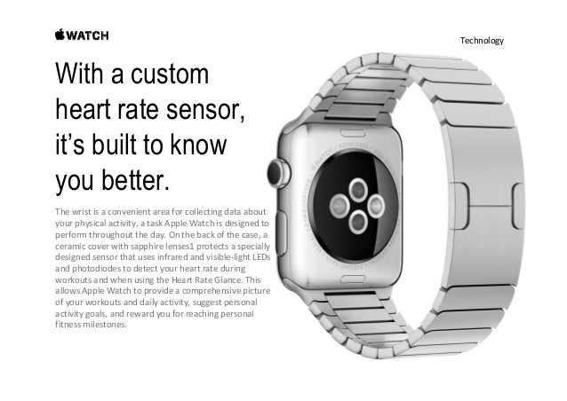 Technology With a custom heart rate sensor, it's built to know you better. HeartRateSensor. Thecustomheartrate senso...