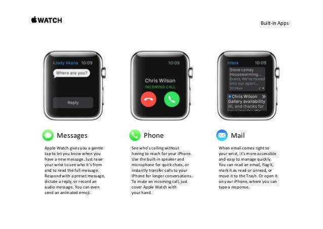 Built‐inApps Calendar Activity Workout Seewhat'snextinyourdayor week.AppleWatchsendsyou meetingreminderstha...