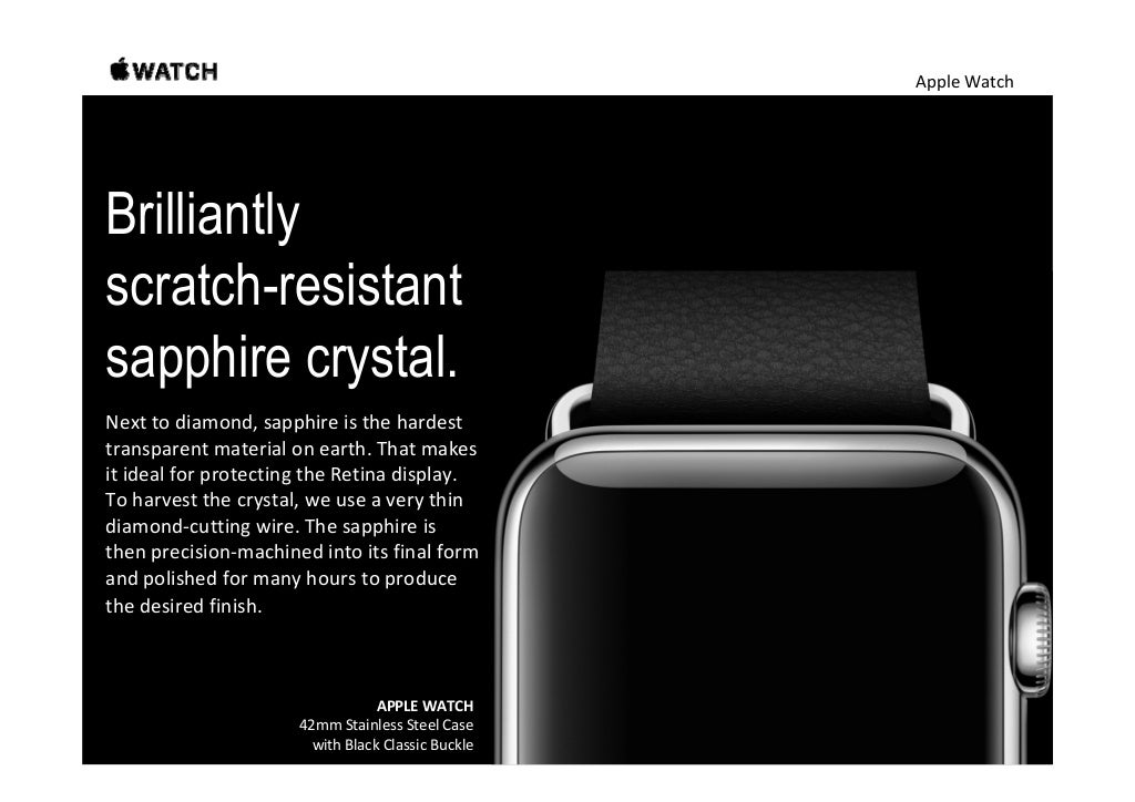 Apple Watch Beautifully engineered bands and
