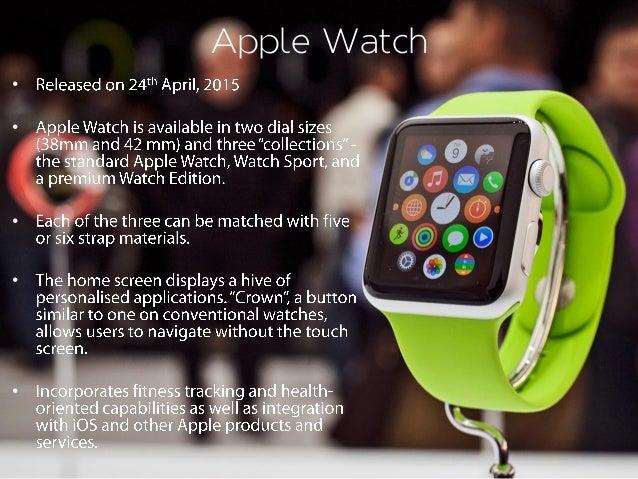 Apple Watch • • • • •