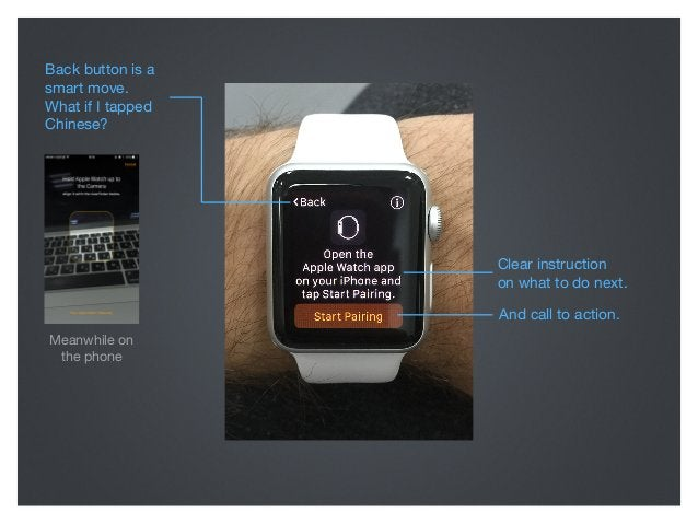 Now let's imagine you align your phone's viewfinder with the watch. Unfortunately I don't have a relevant photo as the phon...