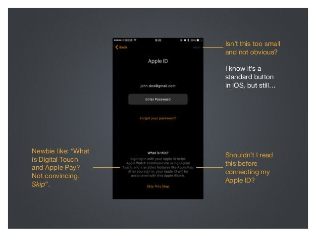 What if this screen looked like this? Btw, tapping Digital Touch and Apple Pay user could learn more in a modal view with ...