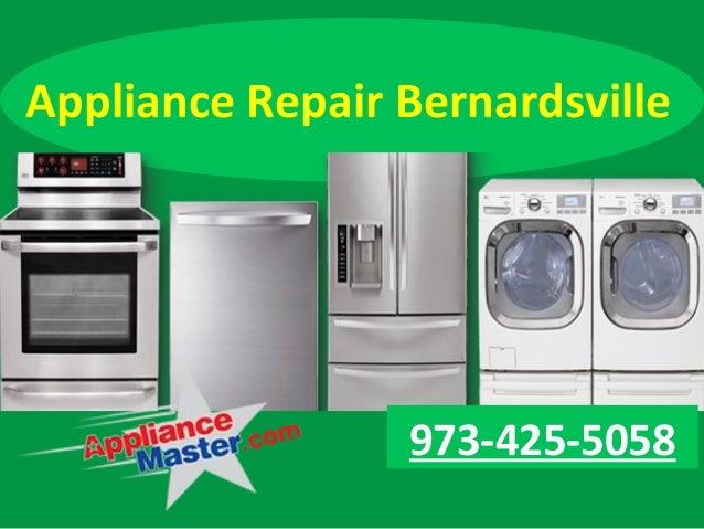 Appliance Repair Bernardsville 973-425-5058
