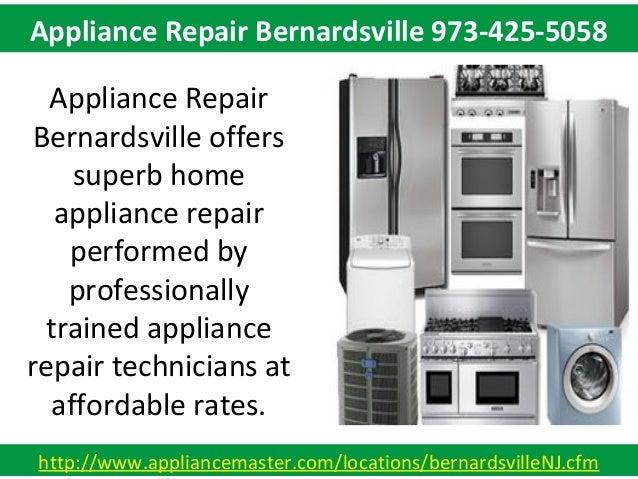 Appliance Repair Bernardsville 973-425-5058 Slide 2