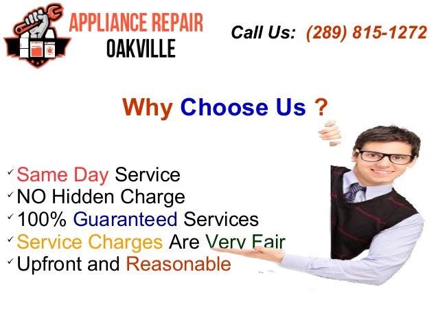 Appliance Repair Company Oakville Same Day Service