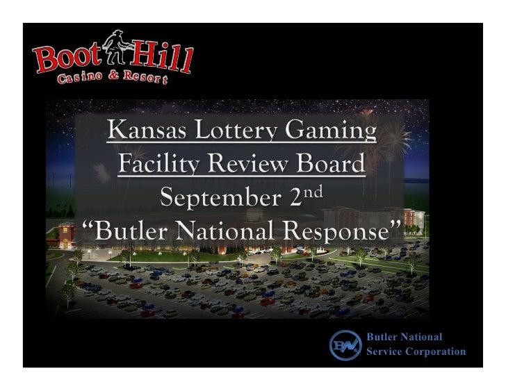 Butler National Service Corporation