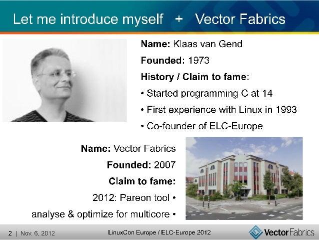 Application parallelisation Android - Klaas Vangend Slide 2