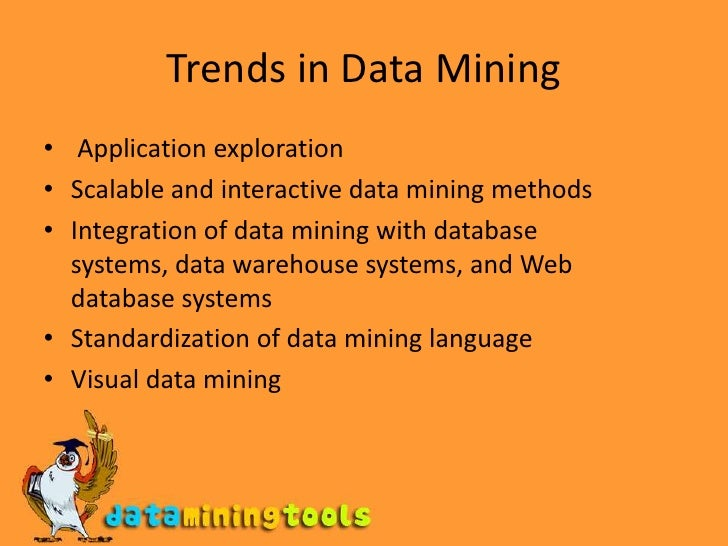 Data mining tools and applications pptv