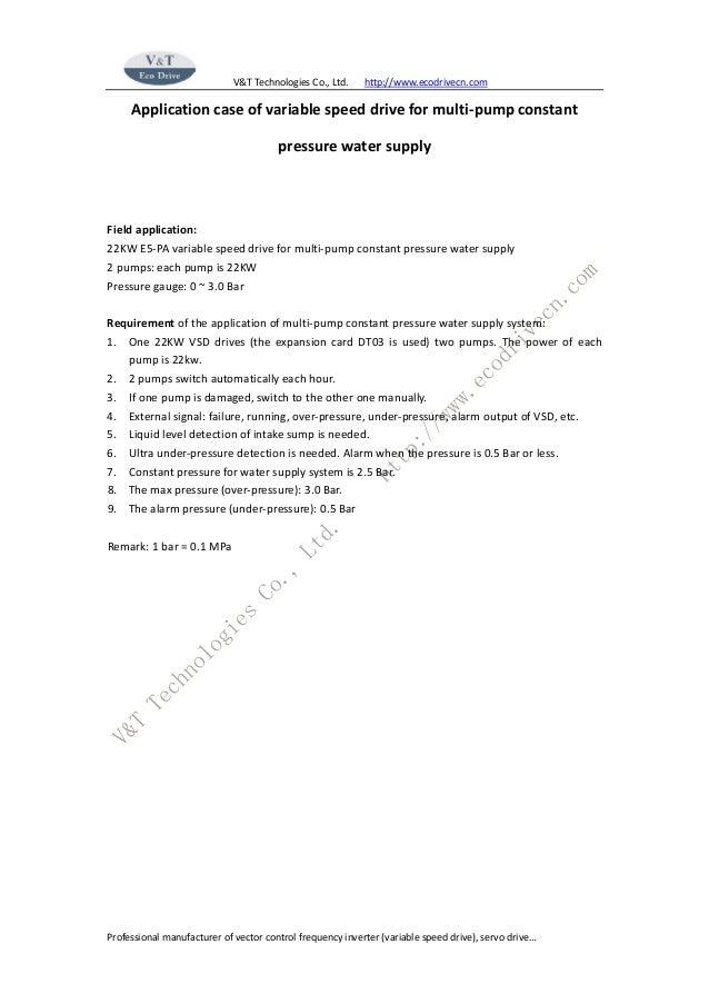 V&T Technologies Co., Ltd. http://www.ecodrivecn.com Professional manufacturer of vector control frequency inverter (varia...