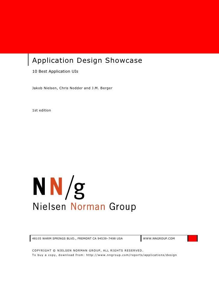 Application designshowcase 1st_edition