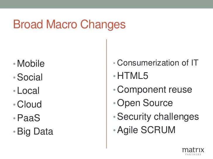 The Application Development Landscape -  2011 Slide 2