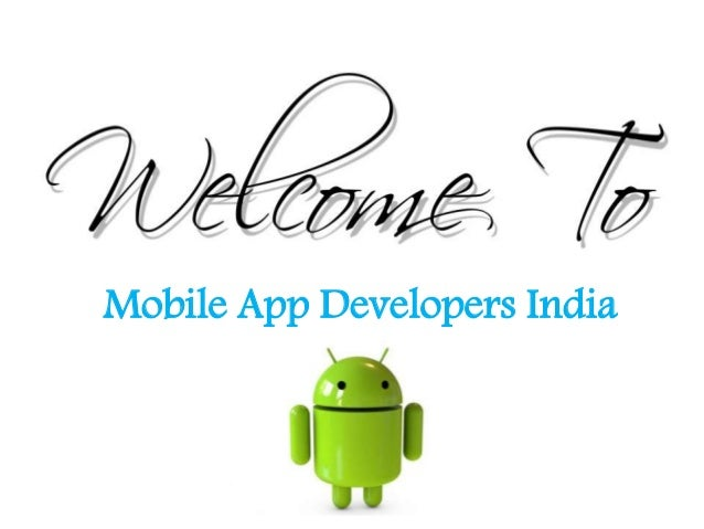 Mobile App Developers India