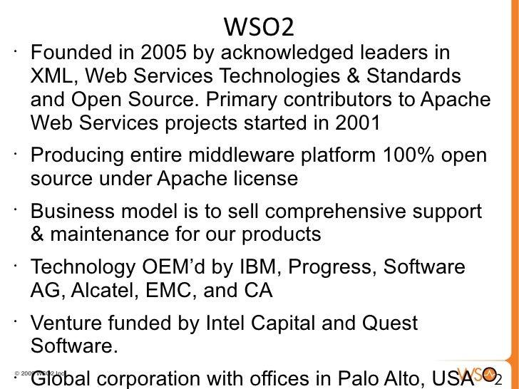 Application development using the wso2 developer studio Slide 2