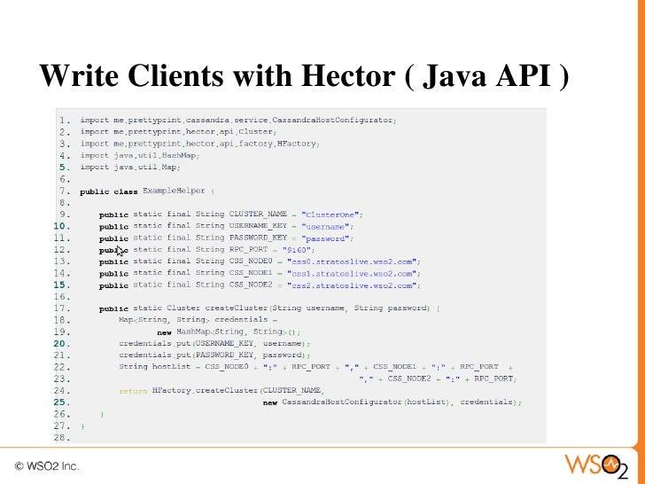 application development with apache cassandra as a service