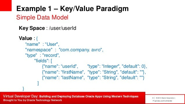 Application development with Oracle NoSQL Database 3 0