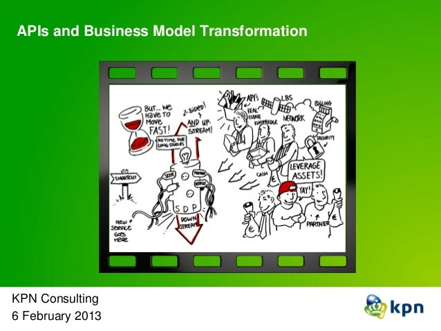 APIs and Business Model Transformation KPN Consulting 6 February 2013