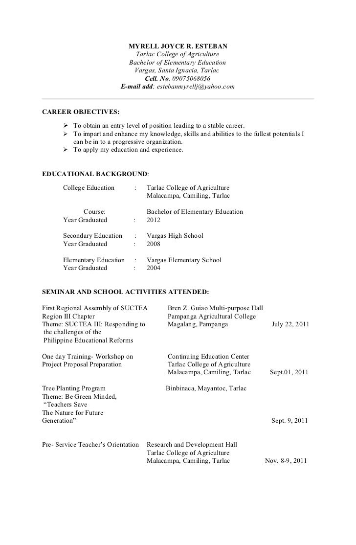 Application letters & resumes2