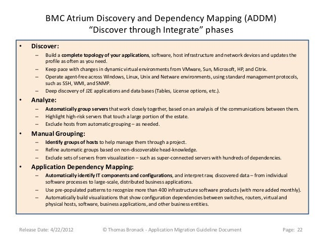 bmc atrium discovery and dependency mapping with Application Migration Guideline Document on Marco Antonelli 34a36661 also Capacidades Gestin De Infraestructuras furthermore Application Mappings additionally Application Migration Guideline Document furthermore 1bh07kj.