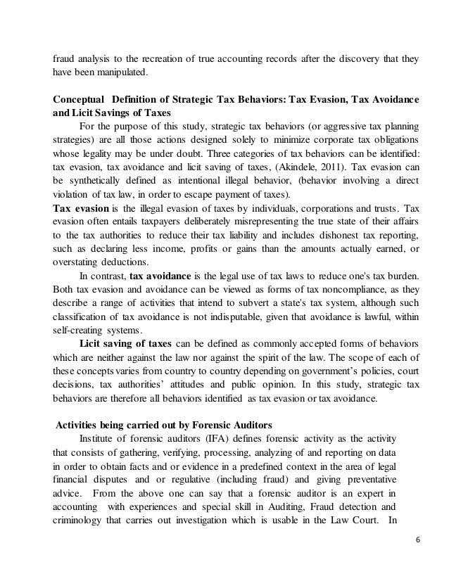 2010 to 2015 government policy: tax evasion and avoidance