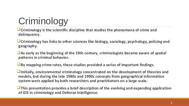 application of criminological theory Criminological theory: theory can be applied to current policies, challenges, and issues, making it easier for students to connect theory and application.