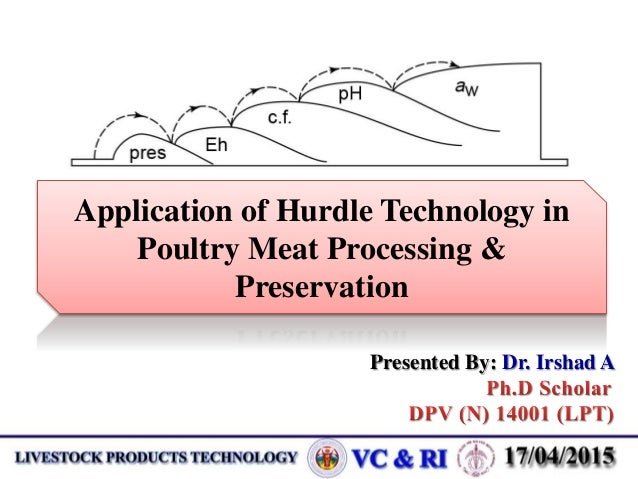 effectiveness of technology in meat production A sanitizer in food processing operations cost-effective method for sanitizing equipment in food processing food technology fact sheet.