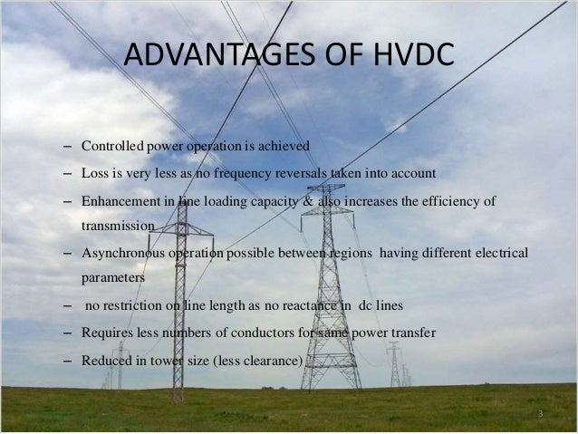 Application of power electronics in hvdc