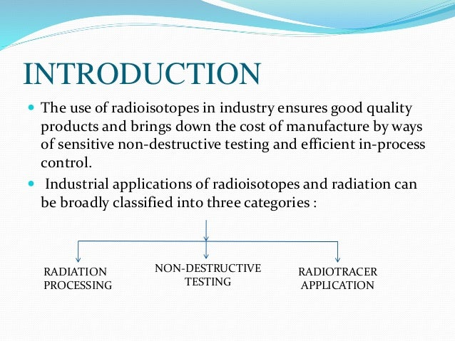 the dangers of radio isotopes The dangers of nuclear radiation- a the electromagnetic spectrum chart from radio waves to one response to the dangers of nuclear radiation- a deeper look.