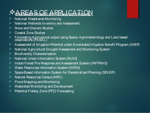Application of remote sensing Slide 3