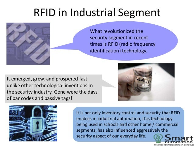 applications of rfid Applications of rfid in supply chains gary m gaukler and ralf w seifert  abstract: in this chapter, we first give an introduction to radio-frequency  identification.