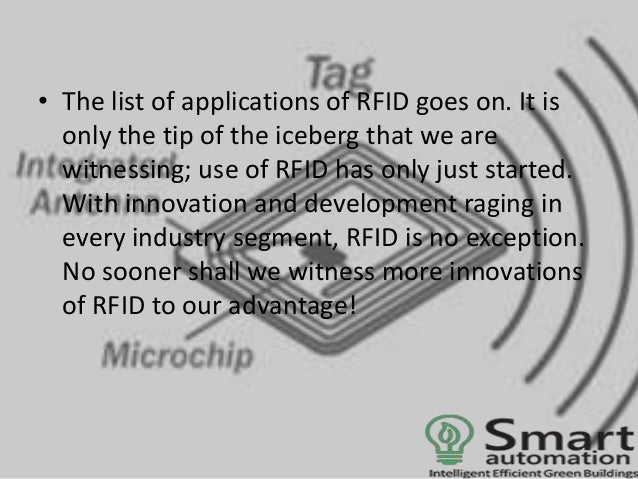 Application of RFID in Industrial Automation