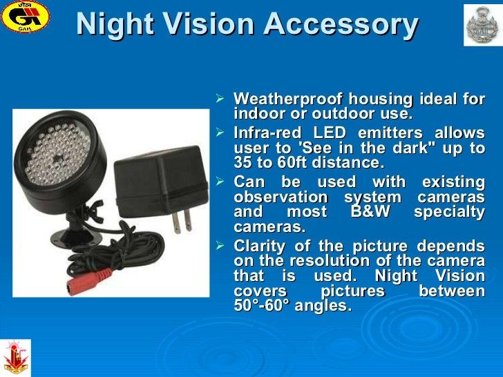 Night Vision Accessory   <ul><li>Weatherproof housing ideal for indoor or outdoor use.  </li></ul><ul><li>Infra-red LED ...