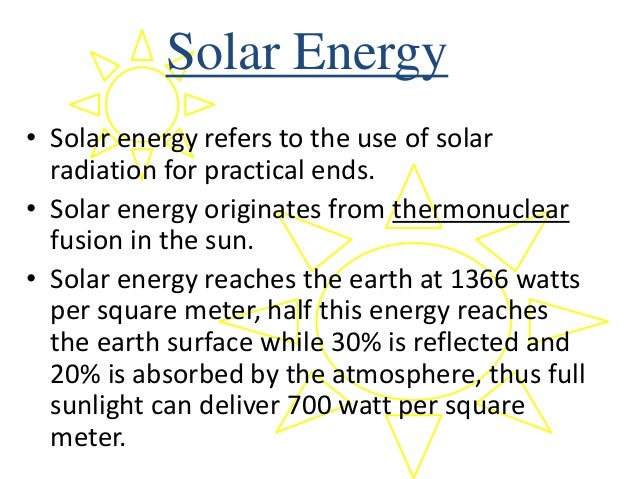 The many uses and applications of solar energy
