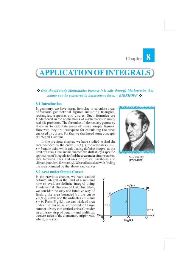 APPLICATION OF INTEGRALS    359                                                                    Chapter         8   APP...