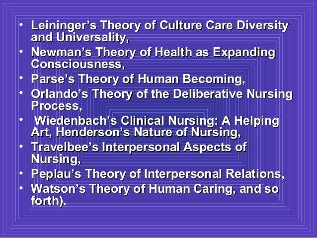 theory of deliberative nursing process essay Define nursing philosophy essay i have provided my definition of the nursing  profession and i believe it is necessary to develop a personal definition of  nursing.