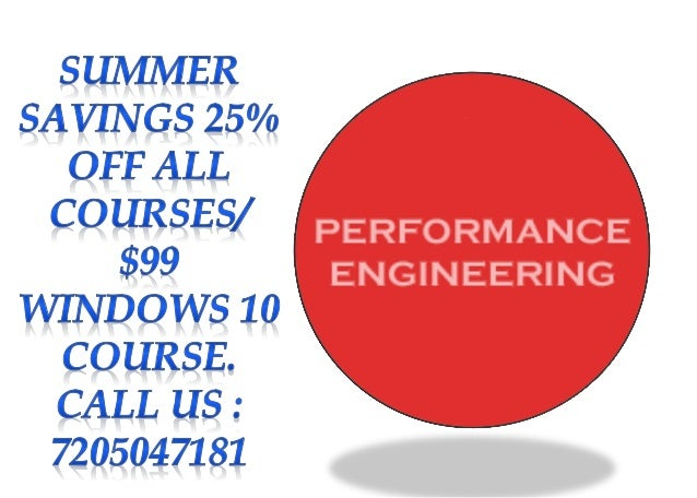 Application Performance Engineering