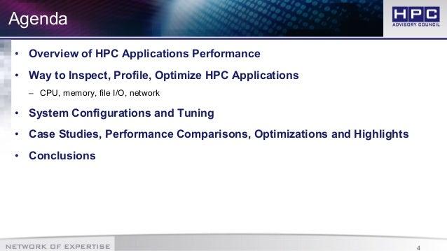 HPC Best Practices: Application Performance Optimization slideshare - 웹