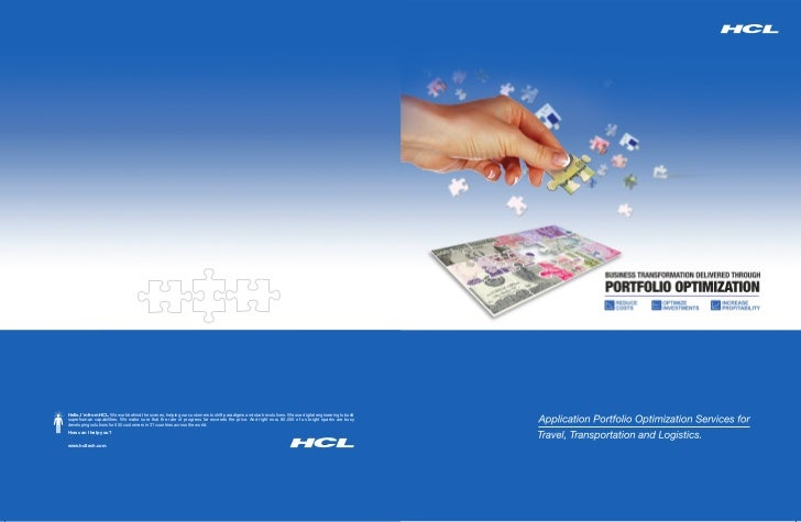 Hello, I'm from HCL. We work behind the scenes, helping our customers to shift paradigms and start revolutions. We use dig...