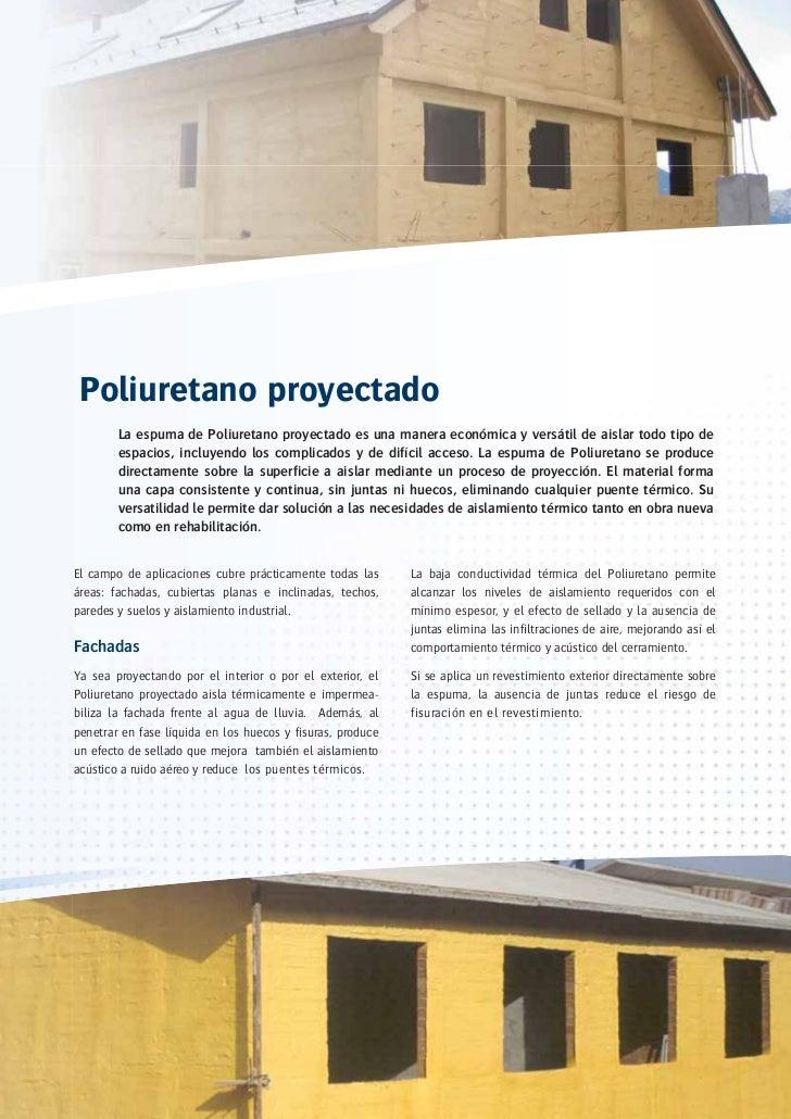 Aplicaciones del aislamiento con poliuretano - Aislar paredes interiores ...