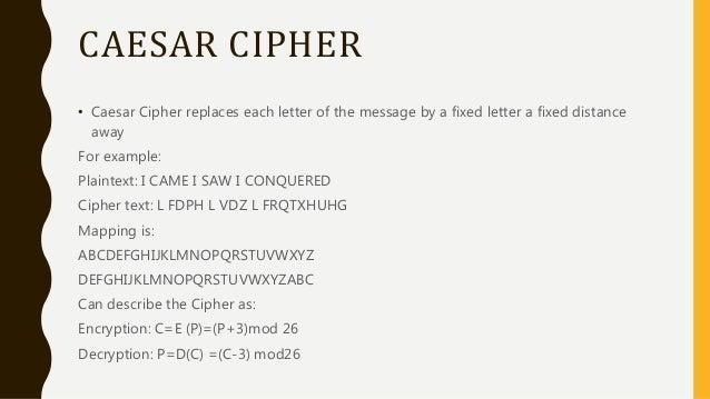 Caesar Encrypt Hill Cipher – Meta Morphoz