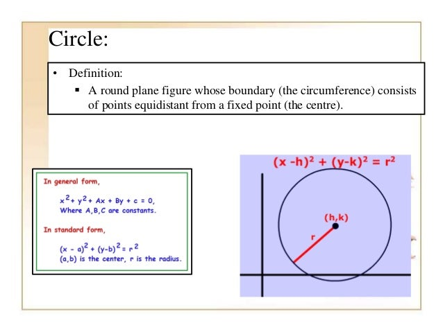 examples of conic sections in everyday life