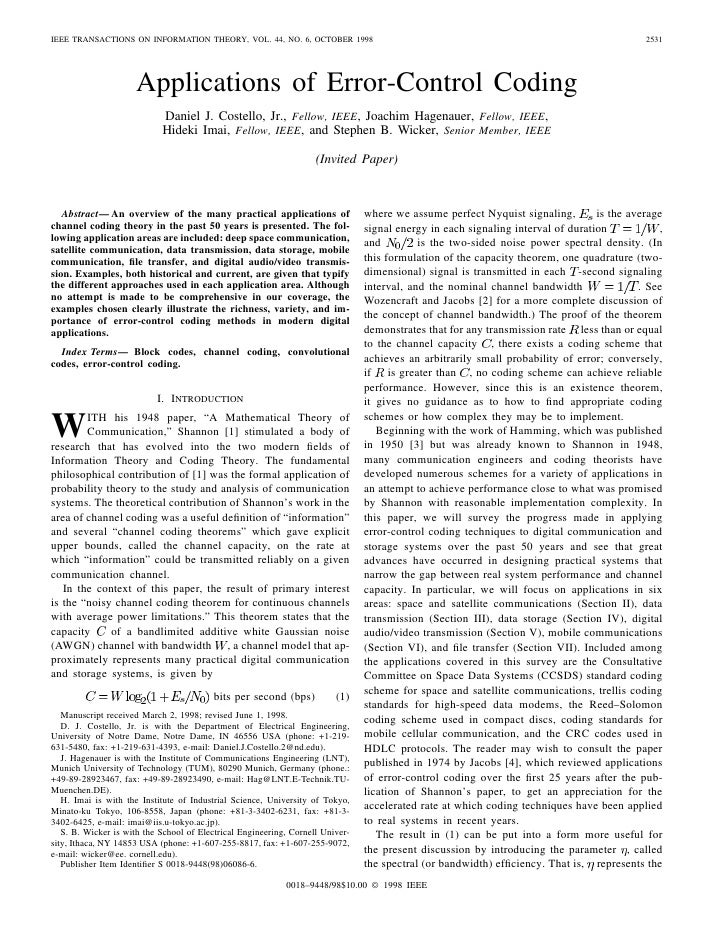 IEEE TRANSACTIONS ON INFORMATION THEORY, VOL. 44, NO. 6, OCTOBER 1998                                                     ...