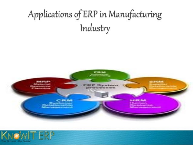 ERP (Enterprise Resource Planning) is a well established  software developed for a mature market by a considerable  number...